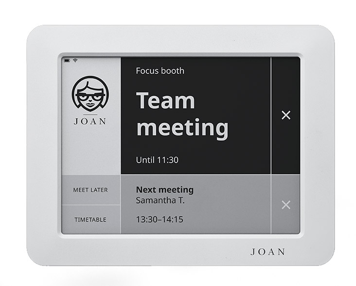 Joan Booking System- book remotely or on the spot