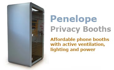 Penelope Phone Booths