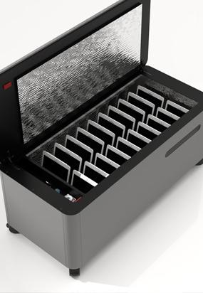 UV Bench Storage