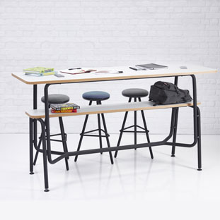 Tubes Slim High Table